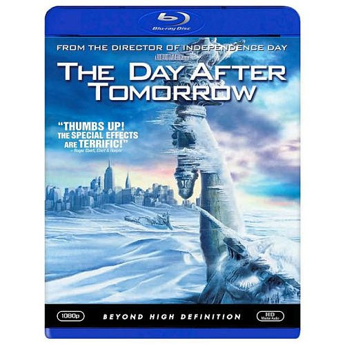 The Day After Tomorrow BLU-RAY Disc