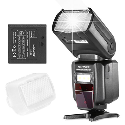 Neewer-Li-ion-Battery-Flash-E-TTL-I-TTL-HSS-Master-Slave-Flash-Speedlite-for-Canon-Nikon-DSLR-Camera-with-Rechargeable-2400mAh-Battery-ChargerNW-870
