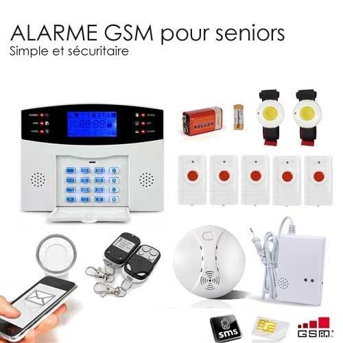 ALARME GSM retraite, seniors