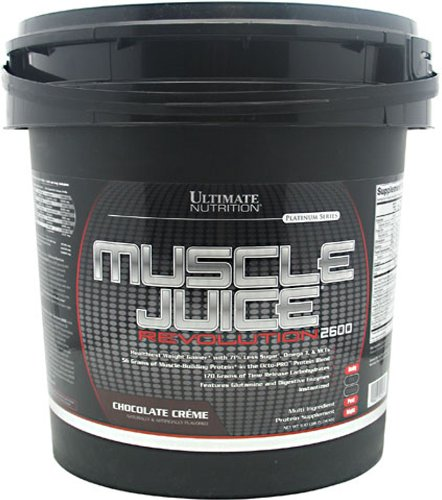 Ultimate Nutrition Muscle Juice Revolution 2600 Supplement Chocolate Creme 11.1 Pound (Pack of 2)