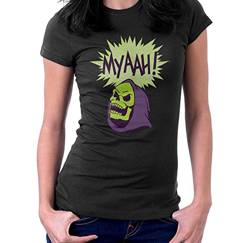 Women's Skeletor Head Masters of the Universe T-shirt - 3 Colors - S to XXL
