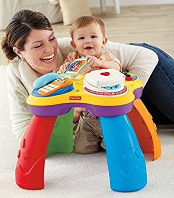 Fisher-Price Puppy and Pals Learning Table from Laugh & Learn