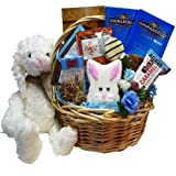 Art Of Appreciation Gift Baskets Miss Mimsys Easter Bunny Gift Basket with Ghirardelli Chocolate