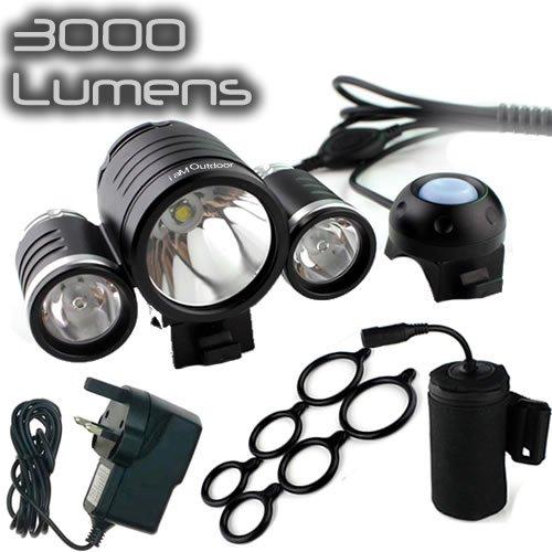 uk sale best price iamoutdoor 3000 lumen rechargeable. Black Bedroom Furniture Sets. Home Design Ideas