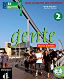 img - for Gente 2, libro del alumno + CD (Spanish Edition) book / textbook / text book
