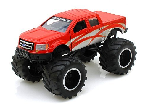 Jada Bigtime 4 Wheelin 2010 Ford F-150 4x4 Die-cast Metal 1:32 with Display Mount. - 1