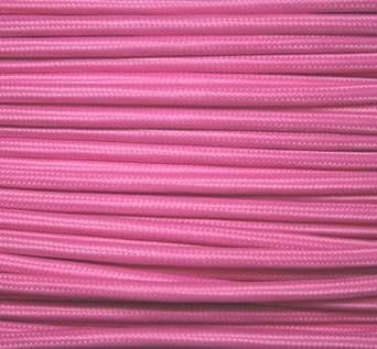 textilkabel zweiadrig stoffkabel lampenkabel pink 2. Black Bedroom Furniture Sets. Home Design Ideas