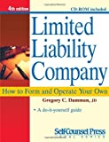 img - for By Gregory C. Damman JD Limited Liability Company: How to Form and Operate Your Own (Self-Counsel Legal Series) (4th) [Paperback] book / textbook / text book