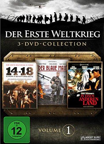 Der erste Weltkrieg - Vol. 1 - 14-18: Europa in Schutt und Asche / Der blaue Max / In einem anderen Land [3 DVDs]