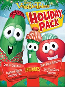 Veggie Tales Holiday Gift Pack by Big Idea