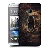 Head Case Grizzly Poly Sketch Protective Snap-on Back Case Cover For Htc One