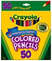 Crayola Colored Pencils 50/Pkg Long 68-4050
