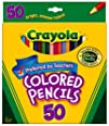 Crayola 50ct Long Colored Pencils (68…