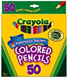 Crayola 50ct Long Colored Pencils (68...