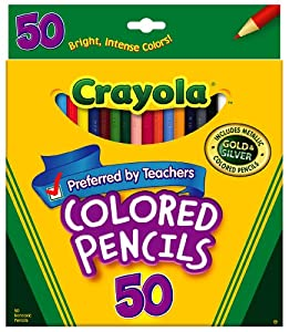 Crayola 50ct Long Colored Pencils (68-4050)
