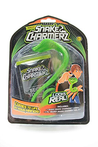 Magic Snake Charmerz Green Cobra Secret Charmer Tool Kit - 1