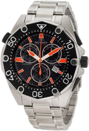 Rotary Gents Aquaspeed Chronograph Bracelet Watch AGB90036-C-04