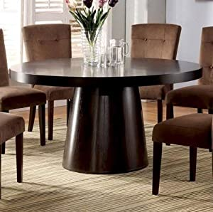 dining table in espresso by furniture of