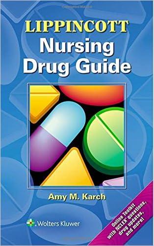 Lippincott Nursing Drug Guide (Lippincott's Nursing Drug Guide)