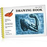 Skizzenbuch 50 Blatt mit Spirale