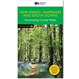 PF(12) New Forest, Hampshire & South Downs National Park (Pathfinder Guides)