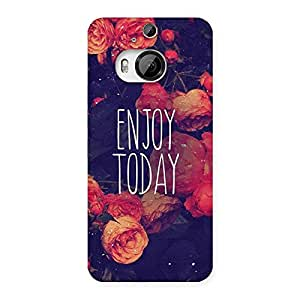Enjoy Today Multicolor Back Case Cover for HTC One M9 Plus