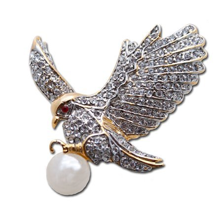 Magnificent Eagle Brooch/Pin