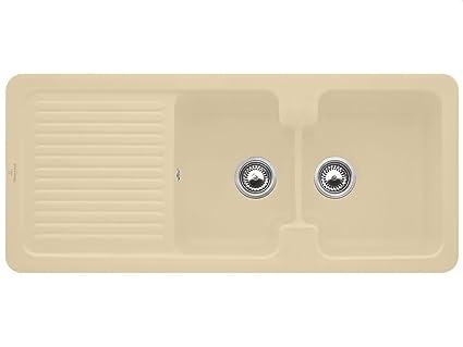 Villeroy & Boch Condor 80 Sand Beige Edition Ceramic Basin Countertop Sink Kitchen