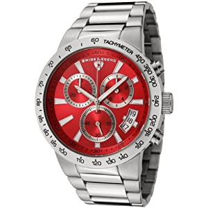 Mens 10057-55 Endurance Collection Chronograph Stainless Steel Watch