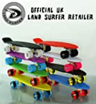 LAND SURFER Cruiser Retro Skateboard...