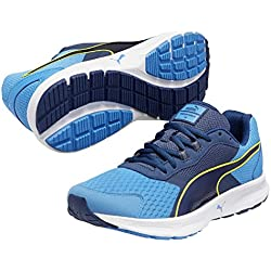 Puma - Descendant V3, Scarpe Da Corsa da uomo, blu (cloisonn/poseidon/sulphur spring), 41