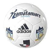 adidas(アディダス) サッカー Jリーグサインボール カマタマーレ讃岐 AMS21KS 白 2号球