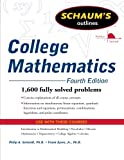 img - for Schaum's Outline of College Mathematics, Fourth Edition (Schaum's Outlines) book / textbook / text book