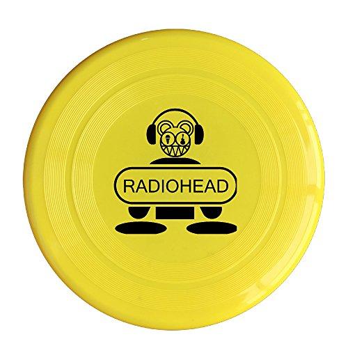SAXON13 New Design Radio Rockband 150g Yellow Toy Flying Disc