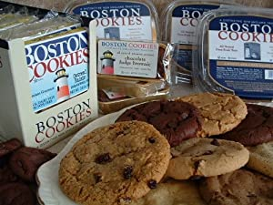 Boston Cookies Vegan Assorted Flavors 12/3.5 Oz (Multi-pack)