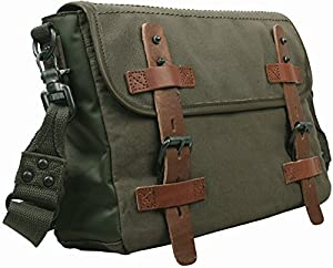 Bolsa de lona Bolsa de mensajero de vendimia Bolsa bandolare de cartero al hombro para viaje/ocio/deporte para hombre