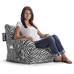 Big Joe Dorm Chair Zebra
