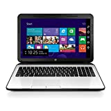 HP 15-ac156TX 15.6-inch Laptop (Core I3 5005U/4GB/1TB/DOS/AMD Radeon R5 Series M330 2 GB Graphics), White Silver