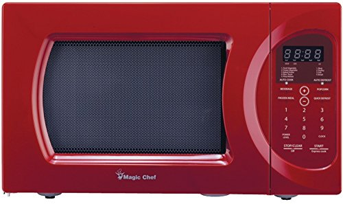 Magic Chef - .9 Cubic-Ft, 900-Watt Microwave With Digital Touch *** Product Description: Magic Chef - .9 Cubic-Ft, 900-Watt Microwave With Digital Touch 0.9 Cu-Ft Capacity 900W 10 Power Levels Auto Cook Menus Auto Defrost Menus Kitchen Timer Chil ***