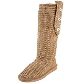 BEARPAW Women's Knit Tall Knee-High Boot: BEARPAW: Shoes