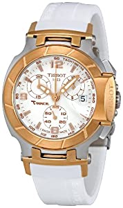 Tissot Women's T048.217.27.017.00 White Dial T Race Watch
