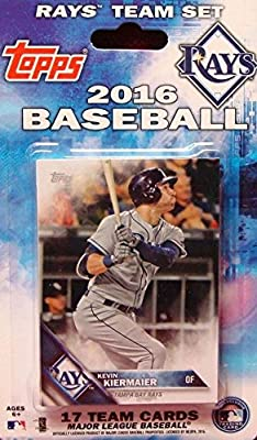 Tampa Bay Rays 2016 Topps Factory Sealed Special Edition 17 Card Team Set with Evan Longoria Plus