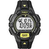 [タイメックス]TIMEX アイアンマン 30ラップ ラギッド フルサイズ ブラック/ライム T5K790 メンズ 【正規輸入品】