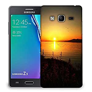Snoogg Sun Rising Designer Protective Phone Back Case Cover For Samsung Galaxy Tizen T3
