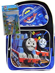 Thomas # 1 Toddler Backpack & Blue Stationery Set