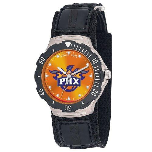 NBA Men's NBA-AGV-PHO Agent Series Phoenix Suns Velcro Watch