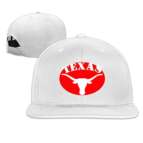 University-of-texas-longhorns-logo Baseball Snapback Cap White (Ohio Table Pad Company compare prices)