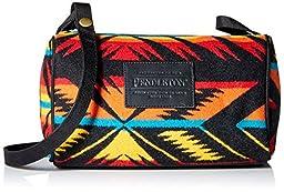 Pendleton Women\'s Dopp Bag with Strap, Arrow Path Black, One Size
