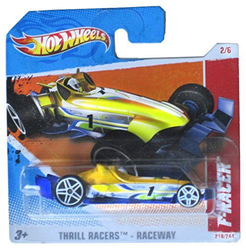 Hot Wheels Thrill Racers - Raceway F-Racer 218/244 on Short Card