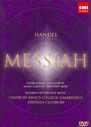 『メサイア』全曲 クレオバリー&エンシェント室内管、キングズ・カレッジ合唱団(2DVD)